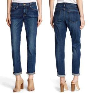 FRAME Le Garcon Skinny Boyfriend Jeans Mentor 26